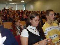 9.-12.klases skolēnu seminārs 30.09. augstskolā Turība